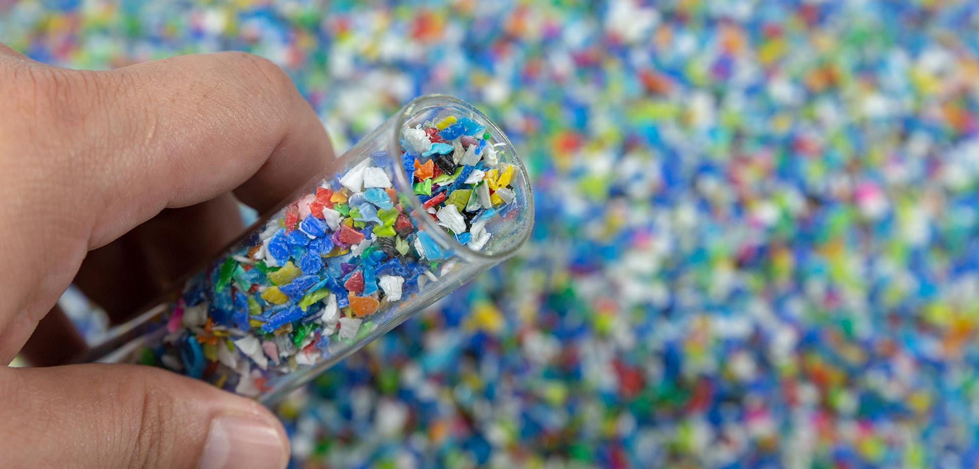 Neue Technologiemaßstäbe für Recycling.